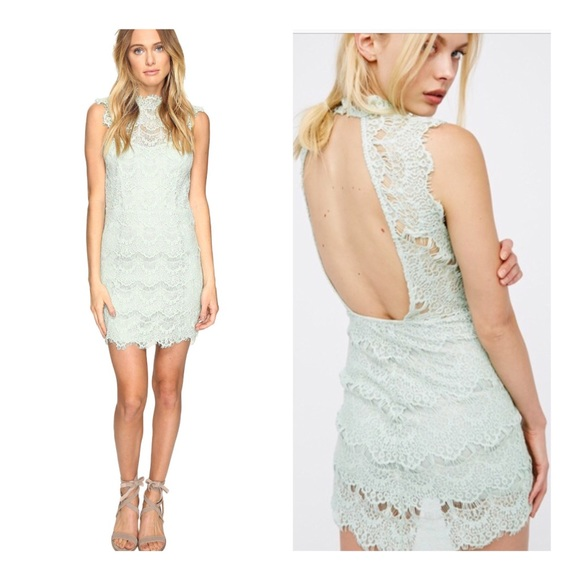 b69bc2a95cf FREE PEOPLE Intimately Daydream Bodycon lace dress